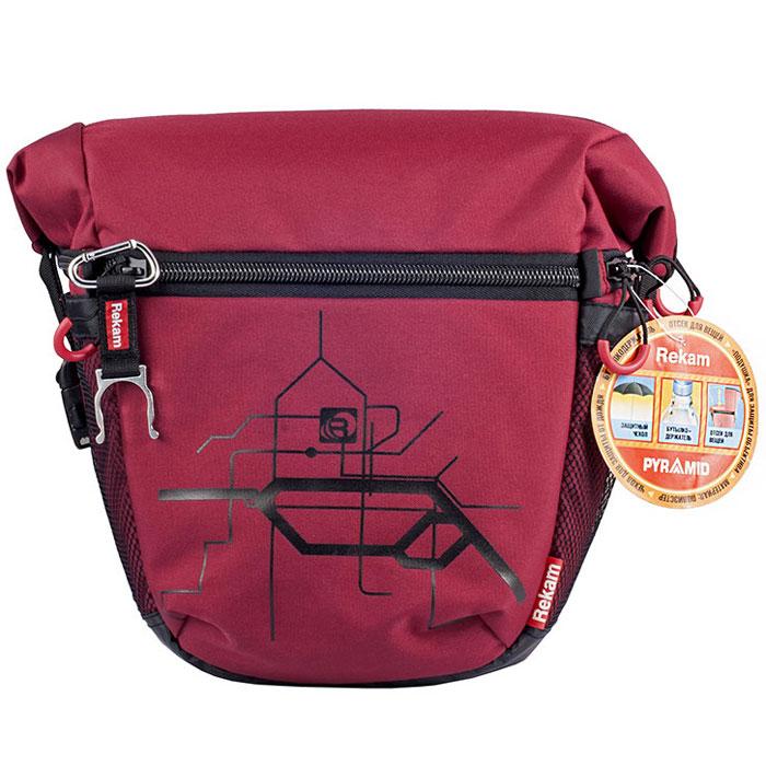 Rekam Pyramid RBX-59, Red сумка для фотокамеры - Сумки и рюкзаки