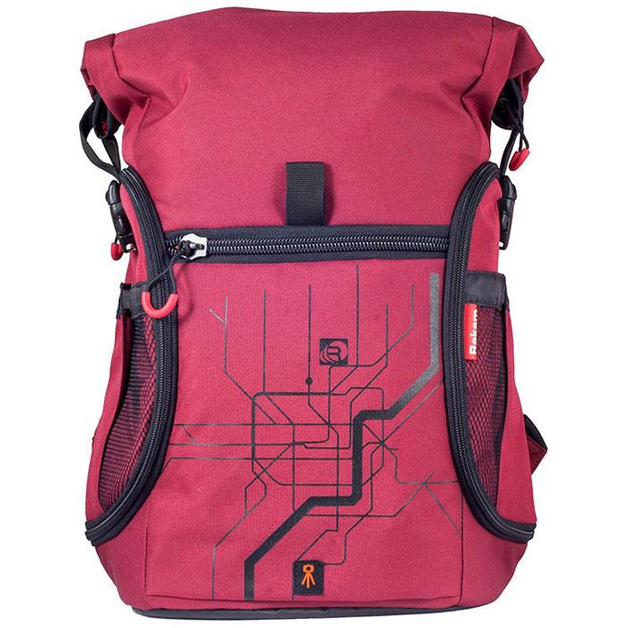 Rekam Pyramid RBX-6000, Red сумка для фотокамеры1401101992Удобный, вместительный рюкзак Rekam Pyramid RBX-6000 предназначен для фото- и видео техники. Функциональные карманы, отсеки и крепления позволяют помимо фотоаппарата, удобно разместить дополнительный объектив, выносную вспышку, штатив, и много мелких аксессуаров. Отсек для личных вещей, который при необходимости удобно складывается и не занимает места, делает рюкзак незаменимым спутником в любом путешествии. Жесткий каркас и ортопедическая спинка надежно защищают как оборудование, так и спину фотографа.