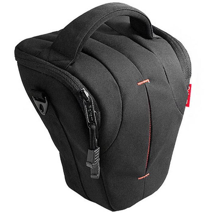 Rekam C5 сумка для фотокамеры1401100015В производстве сумки Rekam C5 используются легкие, прочные и приятные на ощупь материалы. Регулируемые, съемные разделители, позволяют надежно расположить технику и защищать ее от механических воздействий.Дополнительные детали обеспечивают особое удобство сумок: это и внутренние карманы под откидной крышкой для карт памяти, элементов питания и небольших аксессуаров, и металлические ушки крепления для плечевого ремня. Также для удобства переноски предусмотрены петля для крепления на пояс и пластиковое укрепление дна. В комплект входит съемный регулируемый плечевой ремень c прорезиненной противоскользящей накладкой.