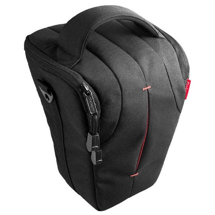 Rekam C7 сумка для фотокамеры1401100017В производстве сумки Rekam C7 используются легкие, прочные и приятные на ощупь материалы. Регулируемые, съемные разделители, позволяют надежно расположить технику и защищать ее от механических воздействий.Дополнительные детали обеспечивают особое удобство сумок: это и внутренние карманы под откидной крышкой для карт памяти, элементов питания и небольших аксессуаров, и металлические ушки крепления для плечевого ремня. Также для удобства переноски предусмотрены петля для крепления на пояс и пластиковое укрепление дна. В комплект входит съемный регулируемый плечевой ремень c прорезиненной противоскользящей накладкой.