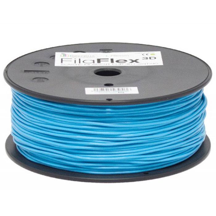 BQ Filaflex пластик в катушке, 1,75 мм, BlueF000085Пластик BQ Filaflexэто эластичный термопластик для использования в 3D принтерах, стойкий к моющим средствам и щелочам. Один из лучших материалов для печати на 3D принтере, он не теряет форму при растяжении и имеет высокую прочность на разрыв. Материал абсолютно без запаха и не является токсичным. Температура плавления215-250°C. Пластик BQ Filaflex применяется для создания гибких, эластичных 3D моделей, таких как ремешки часов, обувь, предметы одежды и аксессуары, а также как часть более сложных 3D моделей в комбинации с обычным PLA пластиком. Одной катушки BQ Filaflex хватит на десятки изделий.Диаметр пластиковой нити: 1,75 ммПредел прочности: 39 МПа