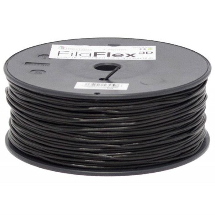 BQ Filaflex пластик в катушке, 1,75 мм, BlackF000084Пластик BQ Filaflexэто эластичный термопластик для использования в 3D принтерах, стойкий к моющим средствам и щелочам. Один из лучших материалов для печати на 3D принтере, он не теряет форму при растяжении и имеет высокую прочность на разрыв. Материал абсолютно без запаха и не является токсичным. Температура плавления215-250°C. Пластик BQ Filaflex применяется для создания гибких, эластичных 3D моделей, таких как ремешки часов, обувь, предметы одежды и аксессуары, а также как часть более сложных 3D моделей в комбинации с обычным PLA пластиком. Одной катушки BQ Filaflex хватит на десятки изделий.Диаметр пластиковой нити: 1,75 ммПредел прочности: 39 МПа