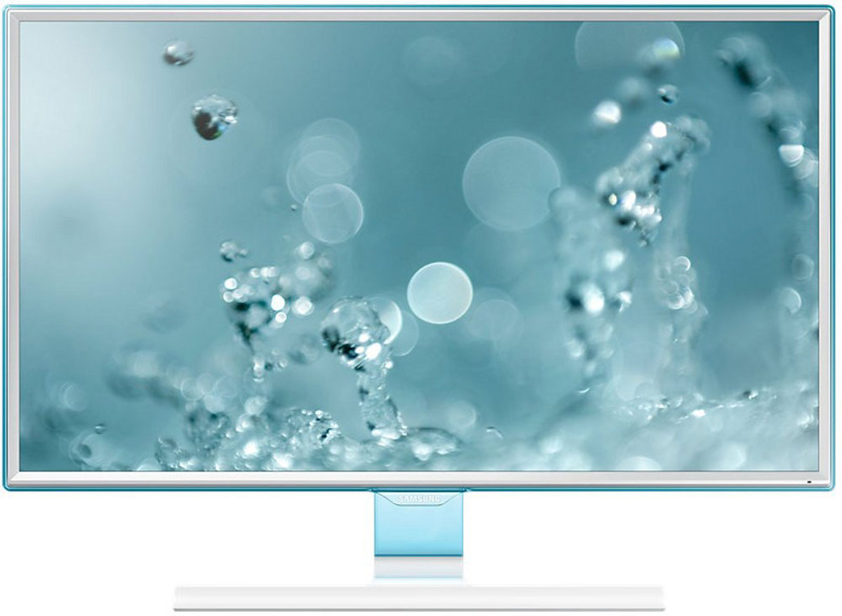 Samsung S27E391H мониторLS27E391HSX/CIВ мониторе Samsung S27E391H обновлен дизайн рамки и подчеркнут полупрозрачным голубым оттенком Touch of Color. Супертонкая рамка с четырех сторон дисплея обеспечивают чистый и современный внешний вид и естественным образом фокусируют взгляд на изображении. Дизайн Touch of Color переходит так же на подставку, что обеспечивает гармоничный и целостный общий дизайн монитора .Используемая матрица обеспечивает широкие углы обзора (178°/178°) по горизонтали и по вертикали для удобства работы, а разрешение Full HD составляет 1920 x 1080, что обеспечивает качественную картинку. Голубое свечение при длительном воздействии отрицательно влияет на зрение. Режим Eye Saver Mode понижает нагрузку на глаза во время работы за монитором путем снижения интенсивности голубого свечения. Технология Flicker Free обеспечивает защиту глаз от постоянного напряжения, вызванного мерцанием и позволяет дольше работать.Эко-энергосберегающая технология снижает яркость экрана для повышения энергоэффективности. Доступны ручная (25%, 50%) и автоматическая (снижает потребление примерно на 10%) регулировка яркости черных секций экрана. Для уменьшения негативного влияния на окружающую среду в монитора SE390/391 не используется ПВХ.С малым временем отклика вы можете быть уверены, что ваш монитор будет справляться с любыми фильмами, играми, содержащими самые динамичные сцены. Функция Magic Upscale обеспечит автоматическое сглаживание текстур изображения малого разрешения, чтобы вы могли насладиться качественной картинкой.