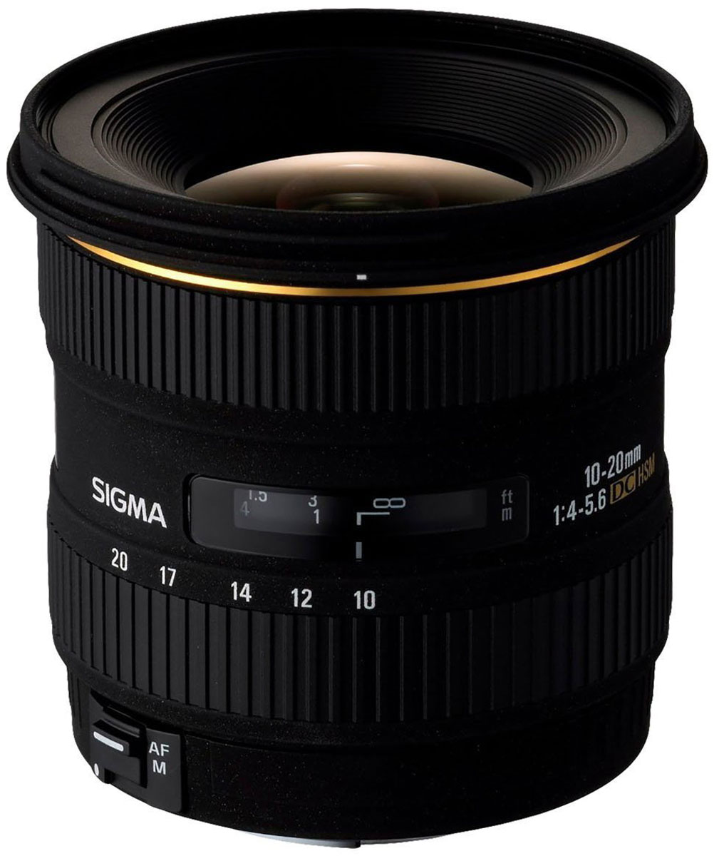 SigmaAF10-20mmF/3.5EXDCHSM, Black объектив для Canon