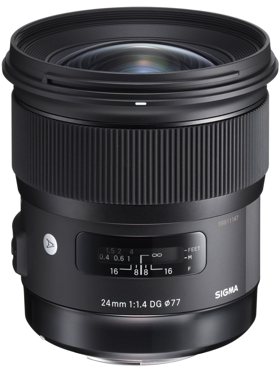 SigmaAF24mmF1.4DGHSMArt, Black объектив для Nikon объектив sigma nikon af 50 mm f 1 4 dg hsm art