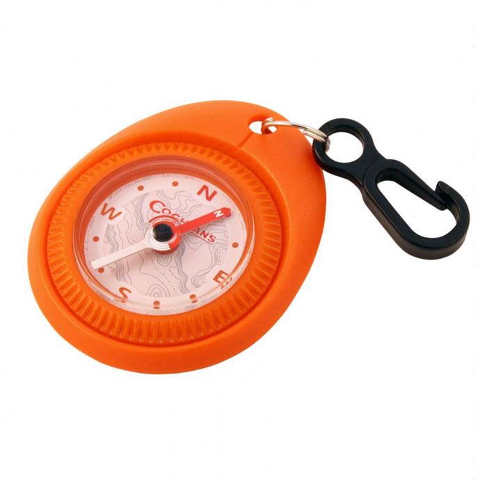 Туристический компас Coghlans, цвет: оранжевый1236oПростой туристический компас Coghlans с карабином для крепления на одежду. Может использоваться в качестве брелока. Компас имеет вращающийся ободок с установкой направления и заполнен специальной жидкостью.