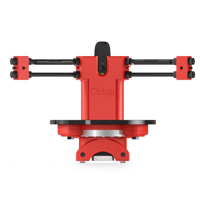 BQ Ciclop DIY 3D сканерH000178Ciclop - это лазерный ротационный триангуляционный 3D-сканер. Он использует в своей работе 2 лазерных луча для получения данных о геометрии и структуре объекта сканирования, вращающегося на поворотном столе.3D-сканер Ciclop был сконструирован с учетом последующего процесса его сборки. Набор включает в себя все необходимые детали и пошаговое руководство по сборке, благодаря чему сканер можно собрать менее чем за час.Программное обеспечение Horus - это кроссплатформенное приложение для Ciclop. Через интерфейс программы можно производить калибровку сканера, регулировать экспозицию камеры или визуализировать облака точек сканирования.Взаимодействие с ПО Horus осуществляется через три рабочих стола: Контроля за компонентами (камерой, лазерами, электродвигателем и фоторезисторами), Калибровки и Сканирования.Ciclop - это сканер типа DIY (сделай сам), и при ручной сборке расстояния между элементами и их положения в конечном продукте могут отличаться, что затрудняет калибровку устройства. Horus устраняет это неудобство путем точной автоматической калибровки внутренних параметров сканера, исходя из конструкции, собранной пользователем. Плата ZUM BT-328 на платформе Arduino включает в себя усовершенствования и функционал аналогичных плат, что делает ее лучшим выбором для разработки электронных проектов. ZUM BT-328 отвечает за работу программно-аппаратных средств управления электродвигателем и лазерами.Сканер Ciclop предназначен для производителей, конструкторов и всех тех, кому требуется получить трехмерную модель физического объекта. Вместе с тем, именно конечный пользователь будет выбирать способ применения, наилучшим образом соответствующий его потребностям.Точность сканирования: 0,5 ммВремя сканирования (настраиваемое): 2-8 минСканов на оборот: 1600 максОбъем сканирования: 250 x 205 ммФормат конечных файлов: PLY, STL Максимальный вес нагрузки: 3 кгВеб-камера Logitech C270 HDПлата управления: ZUM BT-328Шаговый двигатель NemaПротивоскользящая по