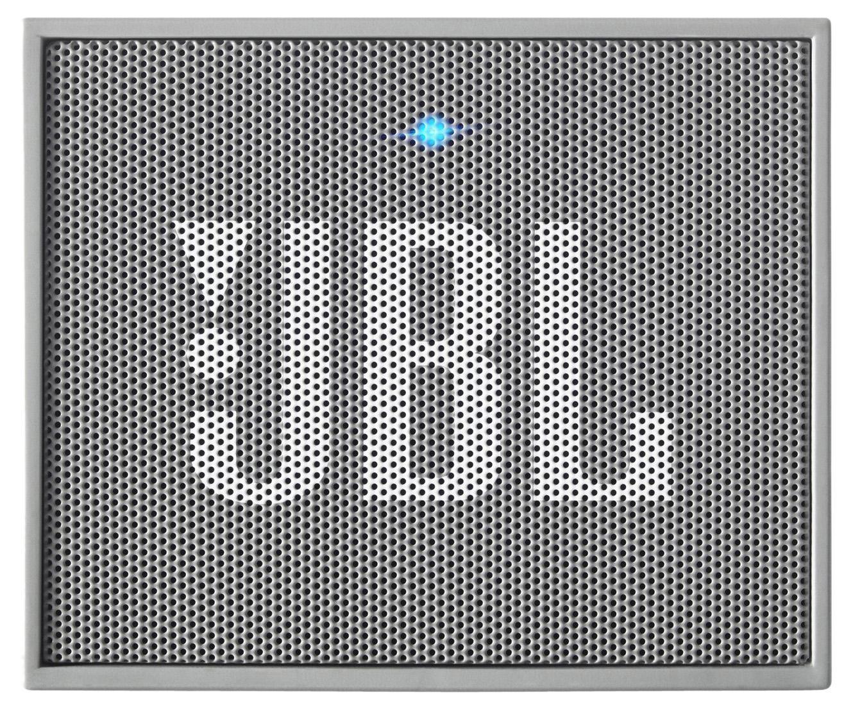 JBL GO, Gray портативная акустическая системаJBLGOGRAYЭтот динамик является удобным решением все-в-одном. Он поддерживает Bluetooth, что позволяет подключать его к любым современным гаджетам, а встроенный аккумулятор подарит вам 5 часов музыки без перерыва. JBL GO также оснащен встроенным микрофоном с технологией шумоподавления, что позволяет вам общаться по телефону по громкой связи. Доступный в 8 ярких расцветках, в прорезиненном корпусе и фирменном стиле JBL, этот портативный динамик подойдет любому, кто любит качественный звук и портативность. GO оснащен креплением, за которое динамик можно прицепить к рюкзаку или одежде. Теперь вы можете никогда не расставаться с любимой музыкой.