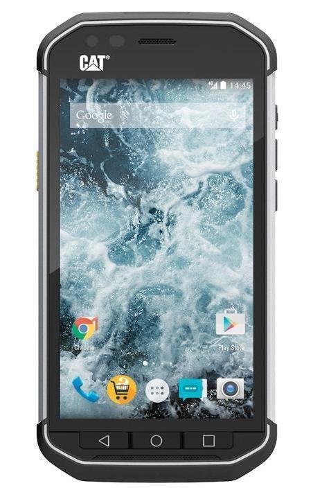 Caterpillar Cat S40, BlackCAT S40Caterpillar, один из крупнейших производителей спецтехники, легко узнаваема по фирменным желтым и черным цветам и трем буквам CAT. Защищенный в рамках отраслевых спецификаций IP67 и MIL-STD-810G смартфон CAT S40 как раз-таки несет крупную трехбуквенную надпись сзади черного корпуса с фирменной боковой желтой кнопкой.Коммуникатор, выпущенный британской Bullit Group, предназначен для тех, кто трудится в условиях с повышенным риском разбить или даже уничтожить мобильное устройство. Вот почему CAT S40 способен выдержать погружение в воду на глубину до одного метра в течение целого часа, его можно уронить с высоты двух метров на бетон, он не пропускает пыль, работает при температурах от -25 до +55 градусов по Цельсию. Снаружи корпус смартфона покрыт резиной, боковины сделаны из алюминия.