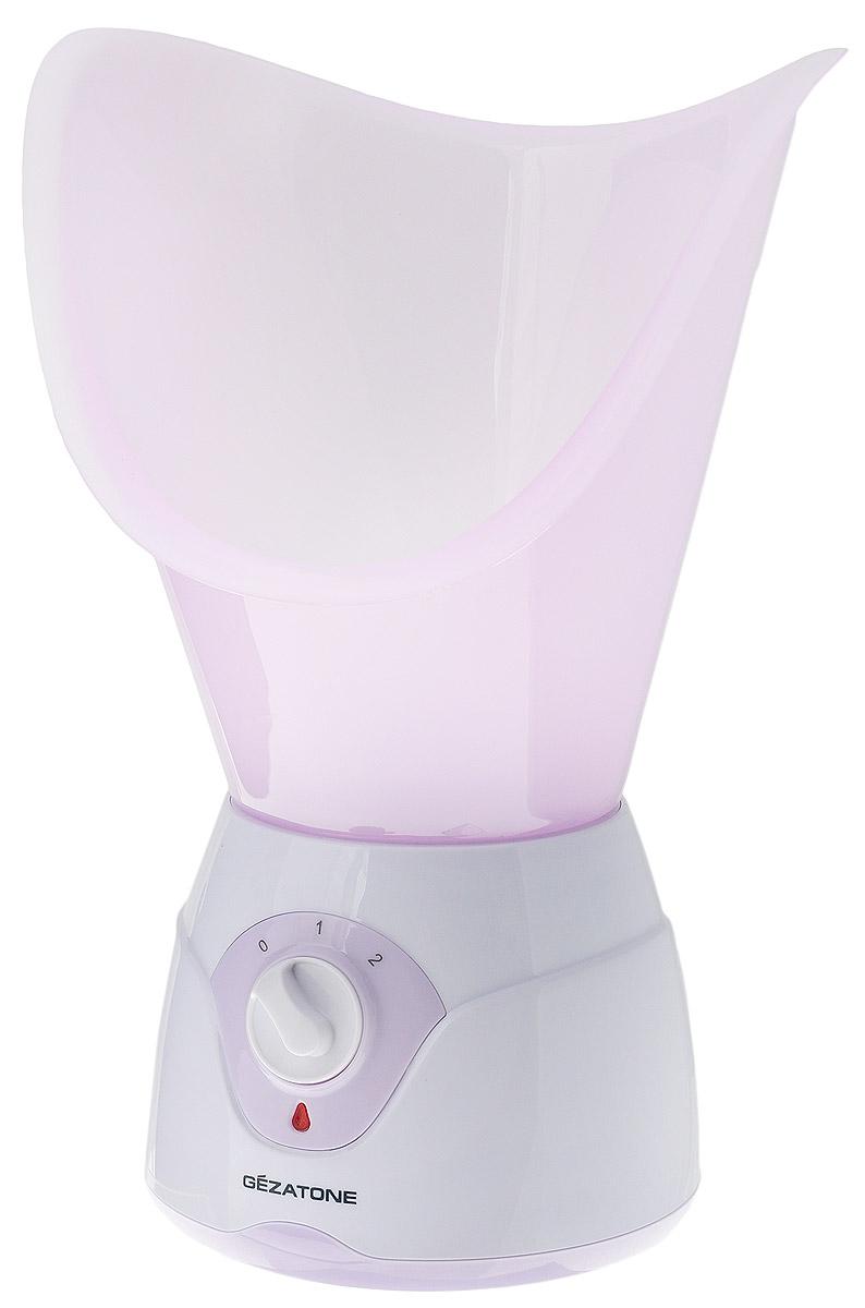 Gezatone Паровая сауна для лица 105S1301061Паровая сауна Gezatone 105S - это идеальное средство для проведения простых и приятных процедур по увлажнению кожи, открытию и очистке пор, общему оздоровлению и повышению тонуса кожи, сохранению красоты и молодости лица.Благодаря нагревательному элементу, сауна создает мягкий пар, который подготавливает кожу к очистке, открывает поры, увлажняет и укрепляет кожу лица. Резервуар сауны предназначен для воды или травяных настоев, но не рекомендуется для использования эфирных масел или спиртовых растворов. Большая чаша для лица идеально прилегает к лицу, обеспечивая комфортность процедуры, а малая насадка позволяет проводить оздоровительные процедуры ингаляции. Регулятор парообразования сделает процедуры с паровой сауной максимально комфортными.Диапазон рабочих температур: +15...35°СДопустимая влажность: не более 85%