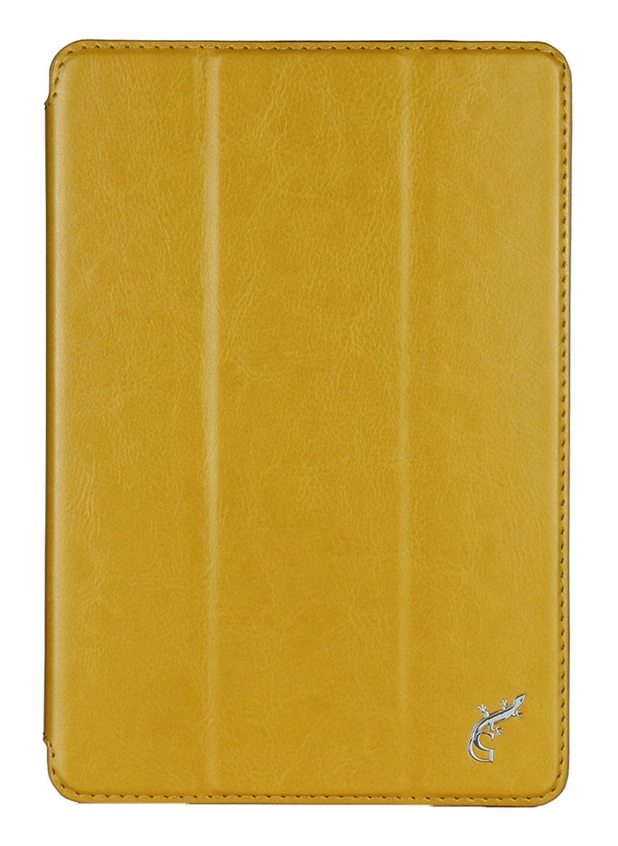 G-Case Slim Premium чехол для Apple iPad mini 4, OrangeGG-659Чехол G-Case Slim Premium для Apple iPad mini 4 - это стильный и лаконичный аксессуар, позволяющий сохранить устройство в идеальном состоянии. Надежно удерживая технику, обложка защищает корпус и дисплей от появления царапин, налипания пыли. Имеет свободный доступ ко всем разъемам устройства.