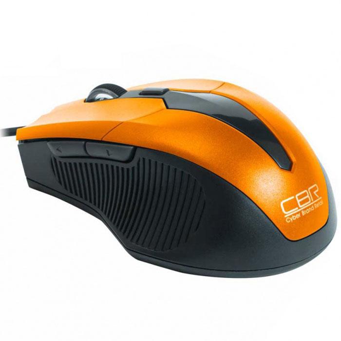 CBR CM 301, Orange мышьCM 301 OrangeПроводная оптическая мышь CBR СM 301 не оставит равнодушными поклонников технологичности и четких геометрических форм. Устройство заключено в среднеразмерный корпус, адаптированный для правой руки. Боковые вставки имеют рифление, помогающее уверенно держать мышь.Манипулятор оснащен 5 кнопками, которым можно назначить 20 пользовательских функций при помощи с диска с фирменным программным обеспечением. Среди настроек – уникальное решение, привязывающее на боковые клавиши функции копировать/вставить. Настоящей изюминкой устройства является мощный профессиональный сенсор, который позволяет установить разрешение от 1200 до 2400 dpi. При этом точность позиционирования курсора будет позволять решать сложные задачи в графическом дизайне или участвовать в кибер-спортивных соревнованиях.