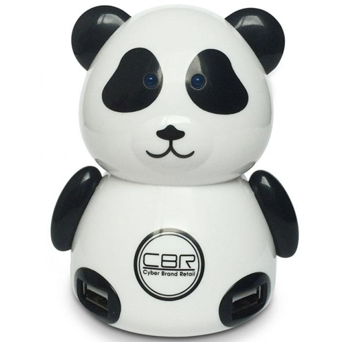 CBR MF 400 Panda USB-концентраторMF 400 PandaCBR USB Hub MF 400 Panda – универсальный 4-х портовый высокоскоростной USB концентратор, который позволяет быстро и удобно подключить к компьютеру или ноутбуку внешнее оборудование USB. USB концентратор соответствует спецификации 2.0 шины USB и позволяет работать одновременно с четырьмя USB устройствами на скорости до 480 Мбит/с. К устройству могут подключаться сетевые USB-адаптеры, USB-накопители и другие устройства. Однако Panda - это не только сухие технические характеристики и показатели эффективности. Это обаятельный персонаж, символизирующий невозмутимость, позитивный настрой и хороший аппетит. Он может стать отличным подарком или вашим другом на рабочем столе.Поддержка Plug&PlayПитание: USB-портСкорость передачи данных: до 480 Мбит/сФункция определения перегрузок по току и защиты выходных портовАвтоматическое распознавание максимальной скорости передачи данных на каждом порту