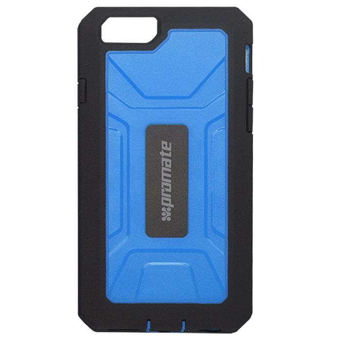Promate Armor-i6 чехол для iPhone 6, Blue00008278Чехол Promate Armor-i6 - жесткий, но в тоже время легкий, как перышко. Сделан из специальных композитных материалов, которые обеспечивают вашему телефону идеальную защиту. Чехол также обладает встроенной HD защитой экрана, что обеспечивают исключительную защиту от царапин. В то же время он обеспечивает полный доступ к сенсорному экрану, а также другим кнопкам управления и портам мобильного устройства.