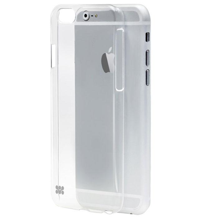 Promate Crystal-i6 чехол для iPhone 6, Transparent00008241Накладка Promate Crystal-i6 изготовлена из чистого, кристально чистого поликарбоната и обработана защитным УФ-покрытием против царапин. Crystal поддерживает безупречным внешний вид вашего iPhone 6 и одновременно обеспечивает ему оптимальную защиту. Технические отверстия вырезаны максимально точно и обеспечивают неограниченный доступ к портам и кнопкам устройства.