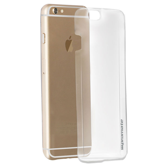 Promate Crystal-i6P чехол для iPhone 6 Plus, Transparent promate tama i6p чехол для iphone 6 plus black