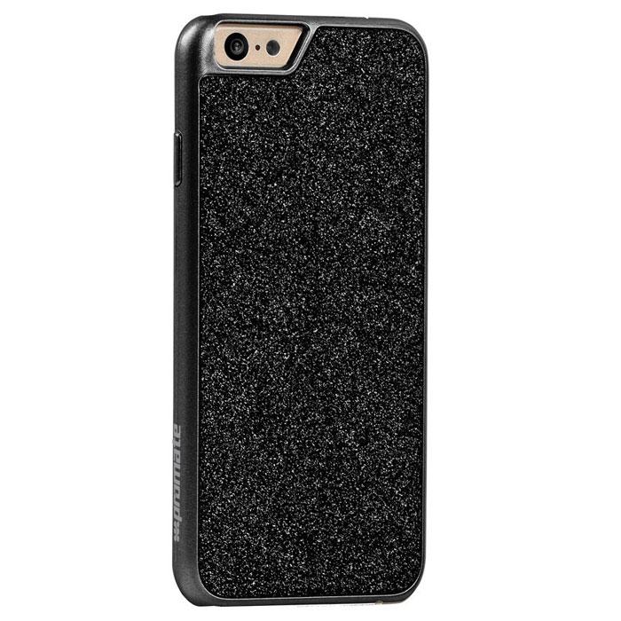 Promate Glare-i6 чехол для iPhone 6, Black00008190Promate Glare-i6 - это дань моде на вашем новом iPhone 6. Этот чехол не только прекрасно защищает смартфон от сколов и царапин, но делает это в блестящем стиле. Glare-i6 выделит и подчеркнет ваш утонченный вкус!