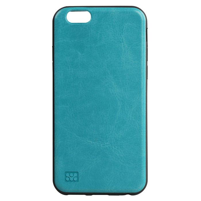 Promate Lanko-i6 чехол для iPhone 6, Blue00008202Сочетания элегантности и защиты - вот что такое Promate Lanko-i6. Поликарбонатная оснастка высокого качества, отделанная кожей ручной выделки прекрасно защищает ваш iPhone. Этот надежный чехол защищает заднюю часть смартфона от всякого рода неприятностей, не утолщая его. Разработан специально для iPhone 6 и обеспечивает полный доступ ко всем кнопкам и портам телефона.