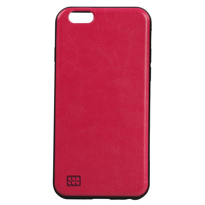Promate Lanko-i6 чехол для iPhone 6, Pink00008203Сочетания элегантности и защиты - вот что такое Promate Lanko-i6. Поликарбонатная оснастка высокого качества, отделанная кожей ручной выделки прекрасно защищает ваш iPhone. Этот надежный чехол защищает заднюю часть смартфона от всякого рода неприятностей, не утолщая его. Разработан специально для iPhone 6 и обеспечивает полный доступ ко всем кнопкам и портам телефона.