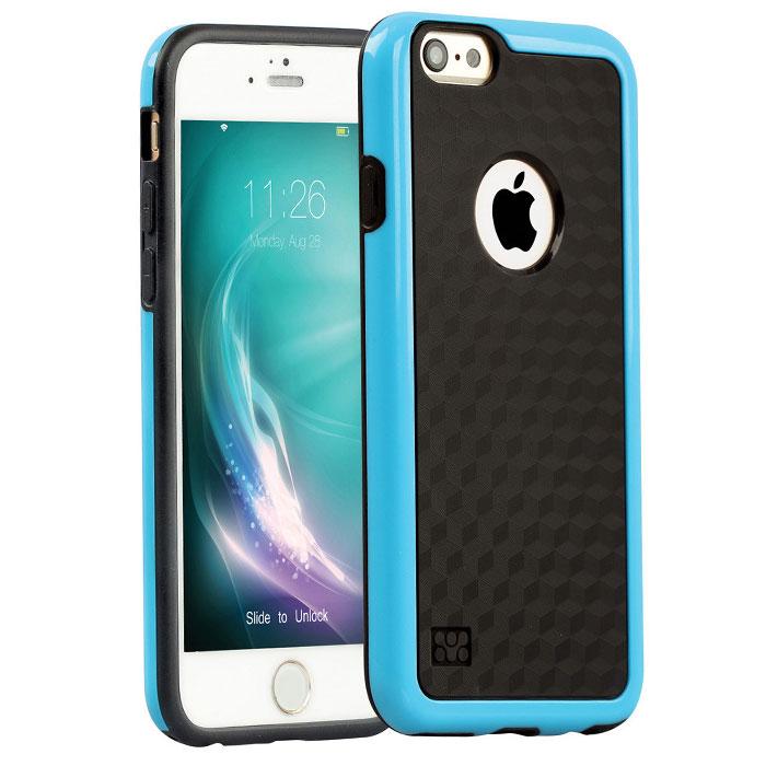 Promate Tagi-i6 чехол для iPhone 6, Blue00008195Promate Tagi-i6 - гибкая защитная накладка, которая плотно облегает ваш iPhone 6 и обеспечивает оптимальную защиту без ущерба доступ к основным функциям смартфона. Стильный и функциональный чехол доступен в различных цветовых решениях.