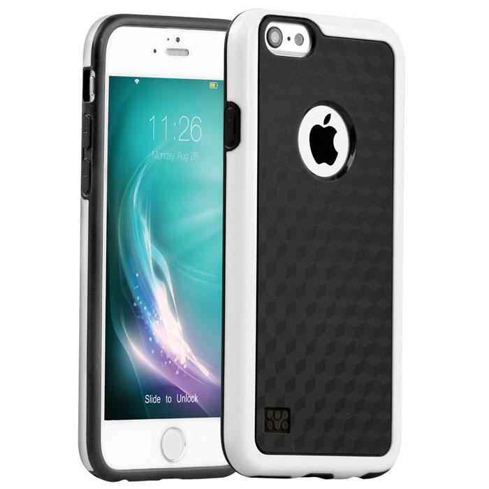 Promate Tagi-i6 чехол для iPhone 6, White00008194Promate Tagi-i6 - гибкая защитная накладка, которая плотно облегает ваш iPhone 6 и обеспечивает оптимальную защиту без ущерба доступ к основным функциям смартфона. Стильный и функциональный чехол доступен в различных цветовых решениях.