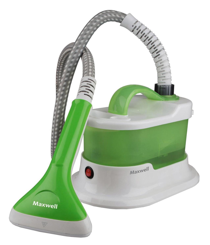 Maxwell MW-3715(G) отпаривательMW-3715(G)С Maxwell MW-3715 G вам не придется даже снимать одежду с вешалки. Резервуар воды емкостью 1 литр позволяет с легкостью отпарить большое количество вещей. Максимальная мощность устройства равняется 1500 Вт, а расход пара — 30-35 г/мин. Гибкий шланг не стесняет вас в движениях в процессе использования, более того он не нагревается, что защищает вас от ожога.