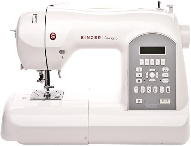 Singer 87708770Швейная машина Singer 8770 относится к высшему классу швейных машин. Работать на такой машине одно удовольствие!Более 200 видов обычных и декоративных швов позволяет изготовить оригинальное изделие. Встроенный компьютер с кнопочным управлением позволяет осуществить автоматическую настройку и регулировку, а также выбрать необходимую строчку.
