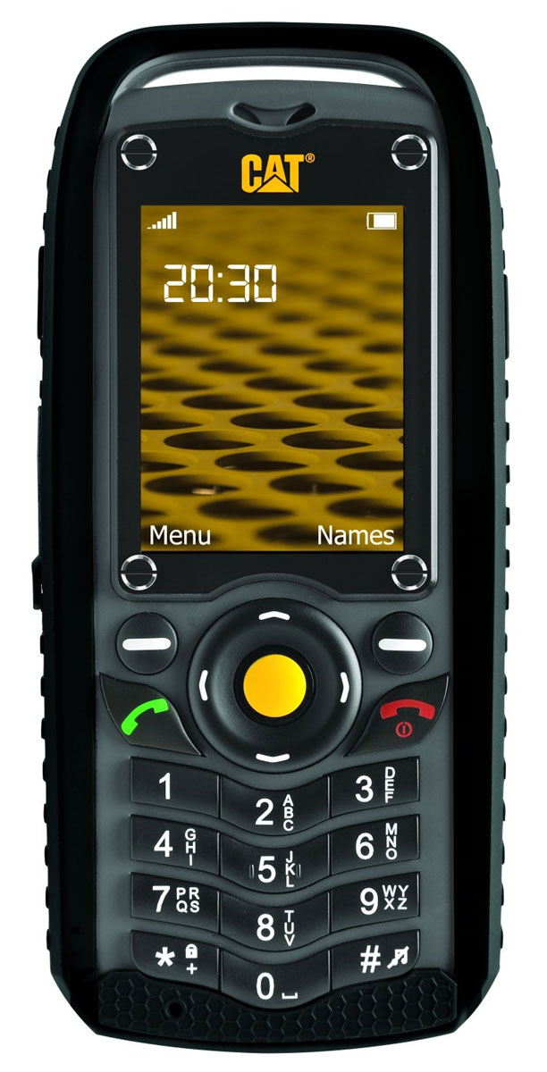 Caterpillar Cat B25CAT B25Caterpillar CAT B25 - компактный защищенный телефон, ориентированный на пользователей, ведущих активный образ жизни. Теперь вы можете не бояться за сохранность вашего помощника, если он упадет или попадет под дождь. Дисплей Caterpillar CAT B25 обладает диагональю 2 дюйма и устойчивым к царапинам и ударам защитным стеклом. Соединение резиновых и стальных вставок создает впечатление качественного, надежного устройства, способного выдержать все. Caterpillar CAT B25 поддерживает одновременную работу 2-х сим-карт, благодаря чему вы можете разделить личные и деловые звонки, или использовать несколько операторов для того, чтобы оставаться на связи в любом месте.Телефон сертифицирован Ростест и имеет русифицированный интерфейс меню, а также Руководство пользователя.