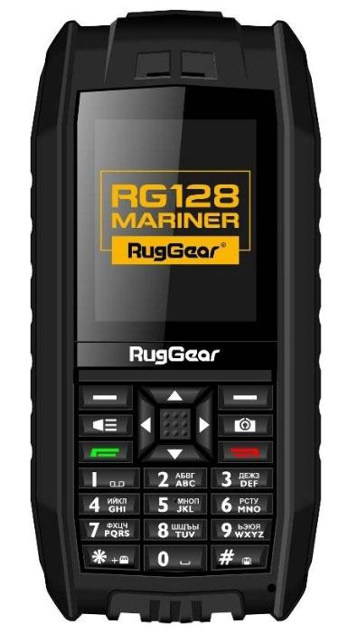 RugGear Mariner RG128, BlackRG128Единственный телефон в мире, который не тонет при погружении в воду. Этот аппарат не пойдет ко дну ни во время рыбалки, ни во время занятий водными видами спорта. Максимальная степень защиты корпуса IP-68 дает возможность оставаться на связи даже тогда, когда все прочие телефоны перестают работать. В комплекте с телефоном поставляются два аккумулятора: стандартный 650 мАч, при использовании которого телефон не тонет в воде, и повышенной емкости - 1400 мАч, позволяющей не заряжать телефон несколько дней. Две SIM-карты позволяют разделять потоки информации, оставаясь в водовороте событий. В этом телефоне есть все для активной жизни - Bluetooth, фотокамера с возможностью видеосъемки, eBook, MP3, MP4, MPEG. Вы можете быть уверены, что фотоальбомы, коллекция музыки и электронные книги не пострадают от водной стихии! Телефон сертифицирован Ростест и имеет русифицированный интерфейс меню, а также Руководство пользователя.