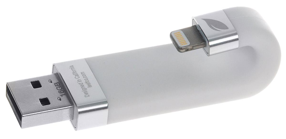 Leef iBridge 16GB, White USB-накопительLIB000WW016R6Leef iBridge создан для расширения памяти на вашем iPhone, iPad, и iPod. Вам больше не придется удалять нужные файлы, освобождая место.Сохраняйте фото и видео прямо на Leef iBridge и никогда не упускайте самые яркие моменты в вашей жизни.Подключите Leef iBridge к своему iPhone или iPad и нажмите iBridge Камера в приложении Leef iBridge App и можете делать снимки.Благодаря Leef iBridge все ваши фильмы и музыка с библиотеки iTunes не займут ни одного мегабайта на вашем мобильном устройстве.В самолете или в машине во время семейной поездки загрузите вашу медиа библиотеку на iBridge и скучать вам больше не придется.Leef iBridge - доступное устройство для расширения памяти на вашем iPhone, iPad, и iPod. С ним вы сможете легко сохранять фотографии, видео и музыку и переносить их между устройствами Apple и ПК.