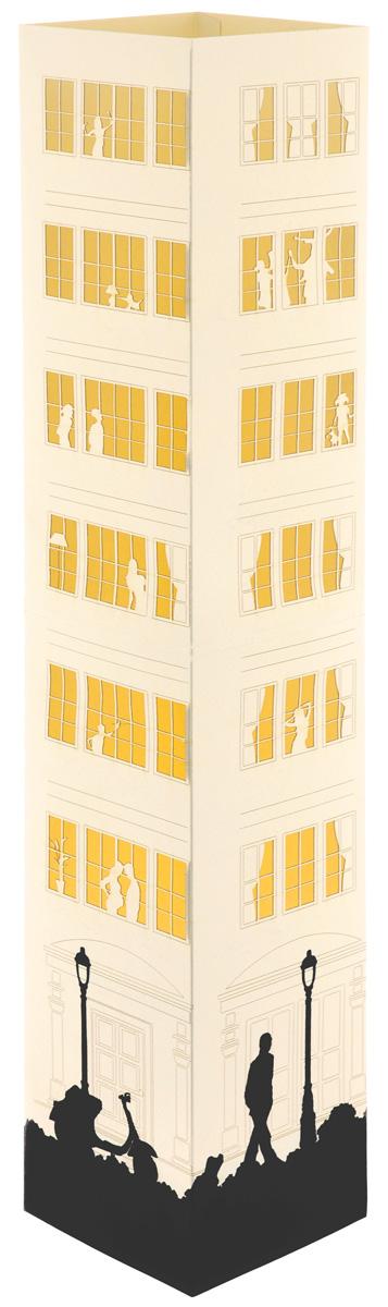 Светильник Аврора Ordinary Life, настольный. AL-008AL-008Настольный светильник Аврора Ordinary Life позволяет создать неповторимую игру света и тени. Изделие поставляется в разобранном виде. Для сборки не требуется инструментов и технических навыков. Светильник состоит из основания, картонного плафона с бумажной вставкой и сетевого шнура с патроном, оснащенного переключателем. Предназначен для использования в закрытых помещениях. Рекомендуется использовать светодиодную лампочку мощностью не более 6,5 Вт и энергосберегающую лампочку мощностью не более 11 Вт. Для чистки использовать только сухие материалы или пылесос. Размер плафона: 11 см х 11 см х 64 см. Технические параметры:- Класс защиты от поражения электрическим током: 2.- Степень защиты: IP20.Уважаемые клиенты! Обращаем ваше внимание, что лампочка в комплект не входит.