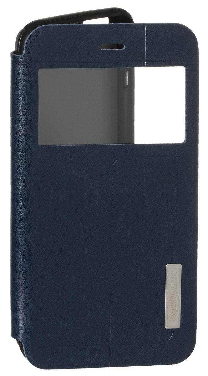 Promate Tama-i6P чехол для iPhone 6 Plus, Blue00008346Promate Tama-i6P привлечет ваше внимание с первого взгляда: удобный, практичный, стильный! Внутренняя оснастка удерживает ваш iPhone 6 Plus аккуратно, но в тоже время очень надежно. Tama-i6P поддерживает опцию горизонтальной установки смартфона для удобного просмотра информации или видео. Доступен в нескольких цветовых решениях.