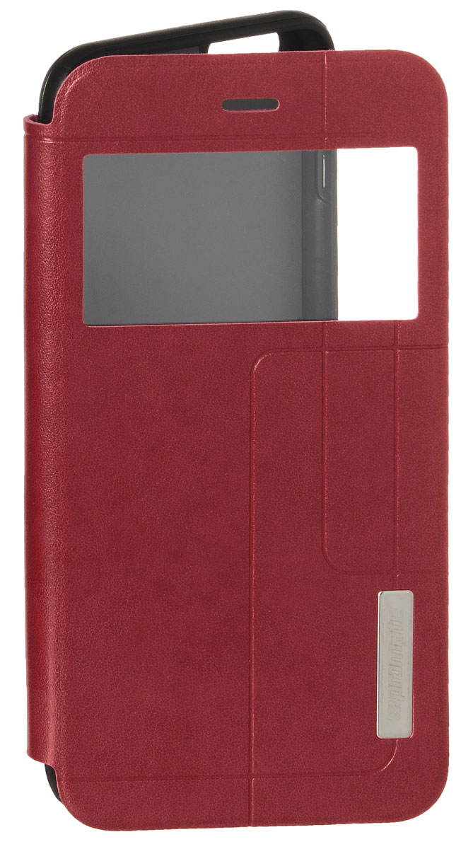 Promate Tama-i6P чехол для iPhone 6 Plus, Red00008345Этот чехол привлечет Ваше внимание с первого взгляда: удобный, практичный, стильный! Внутренняя оснастка удерживает Ваш iPhone 6 Plus аккуратно, но в тоже время очень надежно. Передняя крышка фиксируется удобным магнитным замком. Tama-i6P поддерживает опцию горизонтальной установки смартфона для удобного просмотра информации или видео, а наличие внутреннего отделения для карточек делает этот чехол действительно многофункциональным. Доступен в нескольких цветовых решениях.