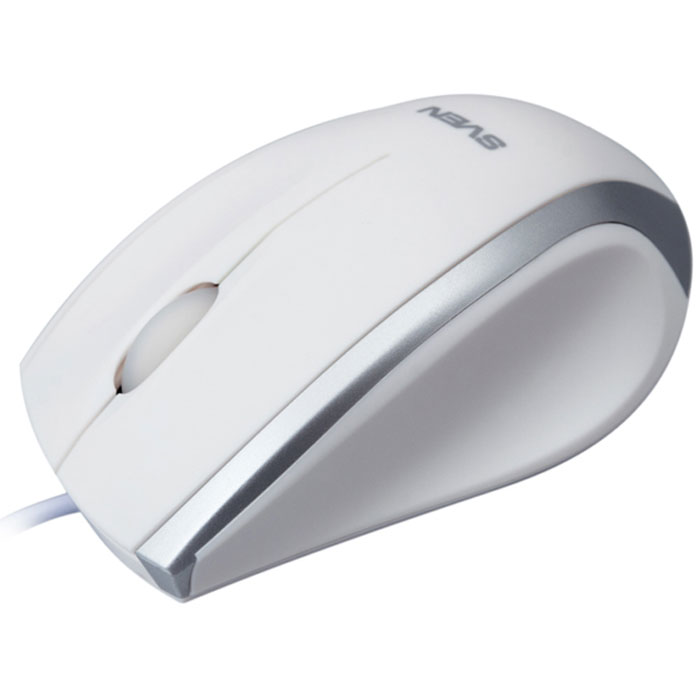 Sven RX-180, White мышьSV-03200180UWВысокоточная оптическая технология мыши Sven RX-180 работает практически на любой поверхности. Эргономичная форма корпуса позволяет работать с девайсом долгое время.