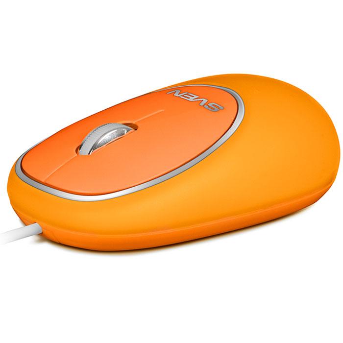 Sven RX-555 Antistress Silent, Orange мышьSV-03200555UOSДолой офисную хандру! Этим летом Sven представили яркую компанию проводных компьютерных мышей с уникальным дизайном. Мягкие разноцветные мыши Sven RX-555 Antistress Silent - не просто незаменимые помощники для работы с компьютером. Они гарантированно поднимут вам настроение, украсят рабочий стол и станут отличным развлечением в перерывах между важными делами.Сочные, насыщенные оттенки мышей Sven сразу притягивают внимание. Их так и хочется потрогать! И здесь начинается самое интересное. Корпус RX-555 Antistress Silent выполнен из пластичного податливого материала. Эту компьютерную мышь можно щипать, тискать и мять - она с легкостью вынесет такое обращение и, несмотря ни на что, будет оставаться в отличной форме.RX-555 Antistress Silent невозможно выпустить из рук! Для отличного настроения нужна только компьютерная мышь! Не верите? Специально для этой модели мы создали особенную упаковку: через отверстие в блистере модель можно потрогать и убедиться в правдивости наших слов. Кроме того, мыши Sven очень удобны в работе. Их кнопки абсолютно бесшумны - никаких раздражающих лишних звуков!Компьютерная мышь Sven RX-555 Antistress Silent доступна в синем, оранжевом и супермодном в этом сезоне зеленом цвете. Только позитив и никакого стресса! Коллеги будут вам завидовать!