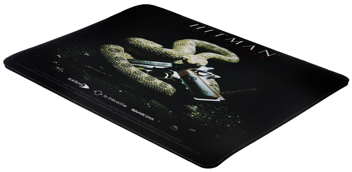 Hitman Absolution, Black коврик для мышиCUCOMКоврик для мыши Hitman Absolution - идеальный сувенир для тех, кто привык считать, что надежное значит проверенное годами. Для производства ковриков используется вспененный ПВХ черного цвета с эффектом прилипания к столу. Толщина основы - 3,5 мм. На верхнюю часть наносится полноцветное изображение, отпечатанное с полиграфическим качеством. Устойчивость изображения обеспечивается защитным пластифицированным покрытием. Даже если на поверхность случайно пролить горячий или холодный напиток, изображение не повредится.