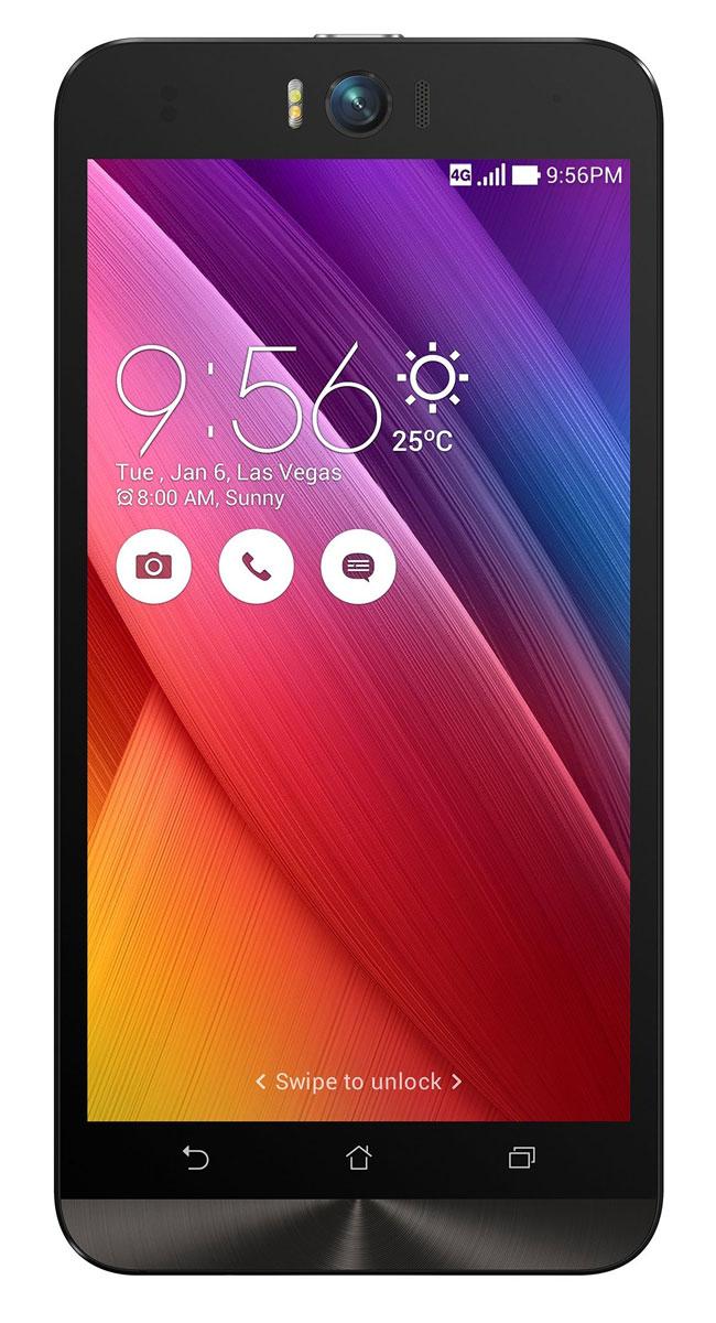 ASUS ZenFone Selfie ZD551KL (32GB), White (90AZ00U2-M01300)90AZ00U2-M01300Asus Zenfone Selfie ZD551KL - инновационное сочетание современных технологий, модных трендов и безупречного качества изготовления. В этом смартфоне есть все, чтобы увидеть себя в самом лучшем свете - две отличные камеры с множеством специальных режимов съемки, удобный интерфейс ZenUI и высококачественный экран.Отличительной особенностью смартфона ZenFone Selfie является высококачественная фронтальная камера с технологией PixelMaster, разрешением 13 мегапикселей, большой диафрагмой (F/2,2) и 88-градусным объективом, причем в режиме панорамных селфи она дает возможность снимать фотографии, охватывающие угол до 140 градусов. И фронтальная, и тыловая камеры смартфона оснащены двухцветной светодиодной вспышкой. В обоих применены современные компоненты от Largan и Toshiba, а в тыловой также реализована высокоскоростная система лазерной автофокусировки.Благодаря поддержке системы жестового управления ZenMotion, для перевода смартфона ZenFone Selfie в режим съемки селфи достаточно начертить пальцем на его экране определенный символ. По умолчанию это латинская буква S, однако ее легко можно заменить на любую другую. Функция улучшения портрета позволяет автоматически украсить селфи-снимки в режиме реального времени: убрать дефекты кожи, подкорректировать черты лица и т.д.Двухцветная вспышка ZenFone Selfie позволяет добиться естественных цветов на фотографиях, снимаемых в помещении. Режим увеличенного динамического диапазона позволяет камерам ZenFone Selfie лучше передавать мельчайшие детали в темных участках фотоснимка.Asus Zenfone Selfie ZD551KL выполнен в ярком корпусе, который обладает типичными для смартфонов Asus декоративными элементами в стиле Zen, такими как узор из концентрических окружностей. Расположенные на задней панели кнопки управления громкостью звука и камерой очень легко нажимать указательным пальцем.IPS-дисплей смартфона ZenFone Selfie обладает разрешением 1920х1080 пикселей и широким