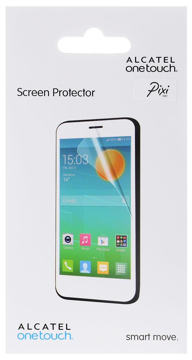 Alcatel Screen Protector защитная пленка для OneTouch Pixi First, прозрачнаяG4024-3AALSPGЗащитная пленка Alcatel Screen Protector сохраняет экран смартфона гладким и предотвращает появление на нем царапин и потертостей. Пленка практически незаметна на экране устройства и сохраняет все характеристики цветопередачи и чувствительности сенсора.