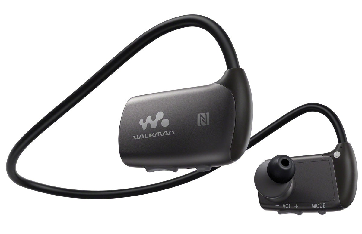 Sony NWZ-WS613 4Gb, Black MP3-плеер