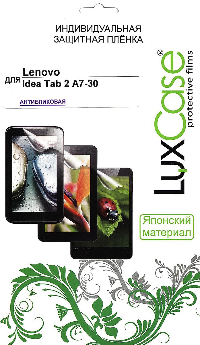 Luxcase защитная пленка для Lenovo Idea Tab 2 A7-30, антибликовая аксессуар защитная пленка lenovo ideatab 2 a7 30 luxcase антибликовая 51059