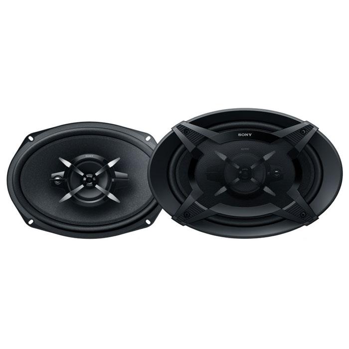 Sony XS-FB6930 колонки автомобильныеXSFB6930.UСоздайте оглушительный звук благодаря 3-полосной коаксиальной акустической системе Sony XS-FB6930. Оцените точное и глубокое звучание басов благодаря конусному НЧ-динамику с диффузором из целлюлозы, усиленной слюдой методом спекания (MRC), и чистоту динамичного звука на большой громкости благодаря высокой выходной мощности. Оптимизирован для подключения к автомагнитоле с поддержкой возможностей функции Mega Bass.Материал диффузора ВЧ-динамика: PEIМатериал диффузора НЧ-динамика: прорезиненная тканьМатериал магнита ВЧ-динамика: неодимМатериал магнита НЧ-динамика: ферритТипоразмер: 15 x 23 см (6 x 9 дюймов)
