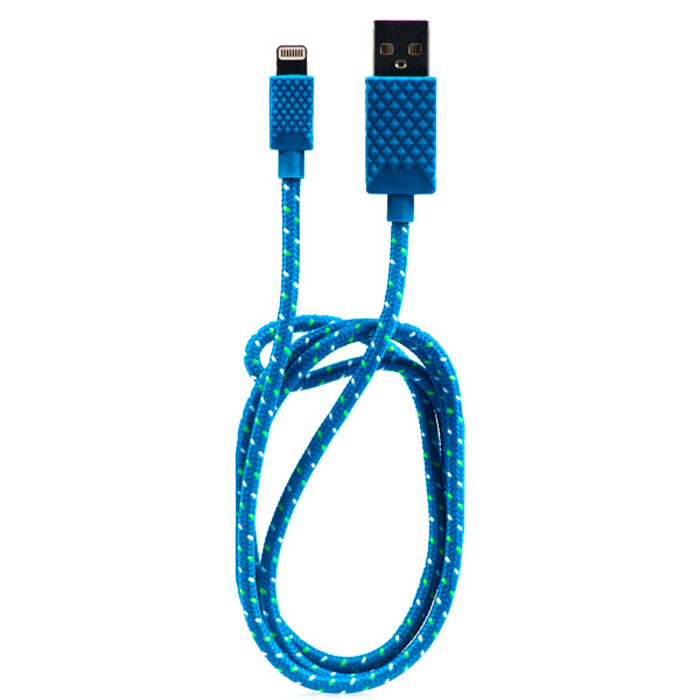 Qumo MFI USB - Apple 8 pin, Blue кабель qumo infiniti в перми