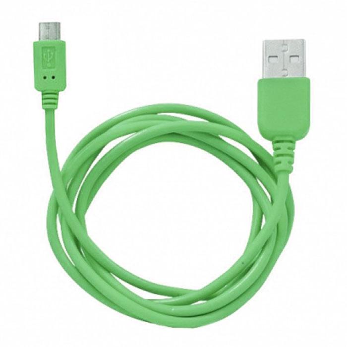 Human Friends Rainbow M, Green micro-USB кабельRainbow M GreenHuman Friends Rainbow - кабель для соединения micro USB-устройств c USB-портом. Он может использоваться для передачи данных, зарядки аккумулятора и адаптирован для работы со всеми операционными системами. Главное достоинство Rainbow - в его внешнем виде. Он выгодно отличается от привычных и скучных расцветок стандартных кабелей. Кабель упакован в очень удобный и компактный пакет-чехол с многоразовой системой открывания-закрывания.