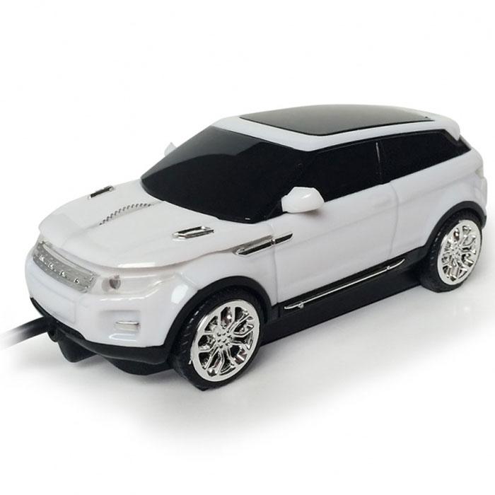 CBR MF 500 Rapido, White мышь мышь rapoo n1162 white usb