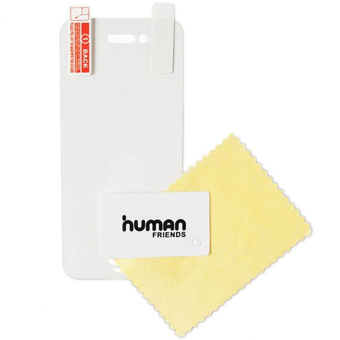 Human Friends Guard защитная пленка для Apple iPhone 5/5S/5CGuard 5/5S/5CHuman Friends Guard - пленки для мобильных телефонов. Пленка просто и удобно отделяется от основы, легко наносится на экран. В комплекте специальная салфетка, чтобы очистить экран, а также пластиковая карта для разглаживания пленки, удаления воздушных пузырьков.