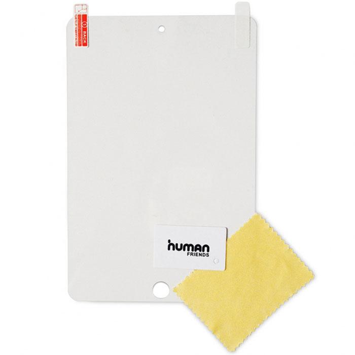 Human Friends Protector защитная пленка для Apple iPad miniProtector iPad miniHuman Friends Protector - пленки для мобильных телефонов. Пленка просто и удобно отделяется от основы, легко наносится на экран. В комплекте специальная салфетка, чтобы очистить экран, а также пластиковая карта для разглаживания пленки, удаления воздушных пузырьков.
