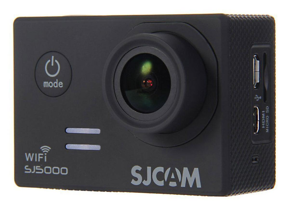 SJCAM SJ5000 WiFi, Black экшн-камера экшн камера sjcam sj5000 wifi