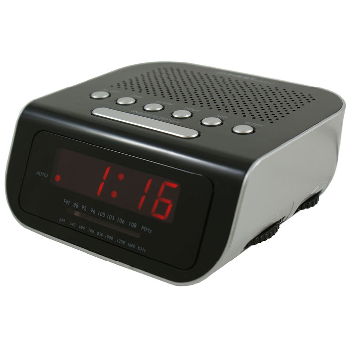 First FA-2406-1, Black радиочасыFA-2406-1 BlackFirst FA-2406-1 - радиочасы с LED-дисплеем диагональю 0,6 дюйма. Устройство имеет кварцевый стабилизатор, а также дополнительные функции: подъем под музыку или звонок, отключение музыки. Вы также можете активировать отложенный сигнал чтобы поспать еще немного времени. Будильник отключится и прозвенит через 9 минут.Резервное питание: 3 батарейки CR2025 (в комплект не входят)