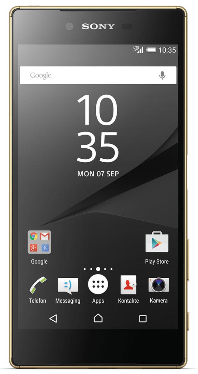 Sony Xperia Z5 Premium, Gold наушники sony xba z5
