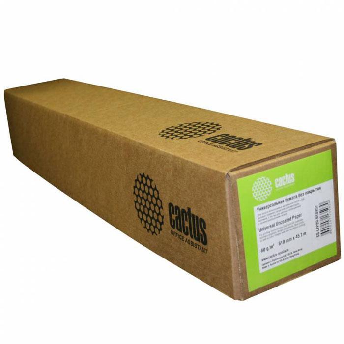 Cactus CS-LFP80-410457 универсальная бумага для плоттеровCS-LFP80-410457Универсальная бумага CactusCS-LFP80-410457 без покрытия для плоттеров.Длина: 45,7 мШирина: 41 смВтулка: 50.8 мм (2)